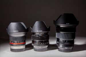 Comparison of Rokinon 12mm f2.0, Fuji 14mm f2.8 and Fuji 10-24mm f4 lenses